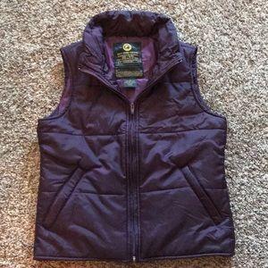 Lucky Brand Purple Vest